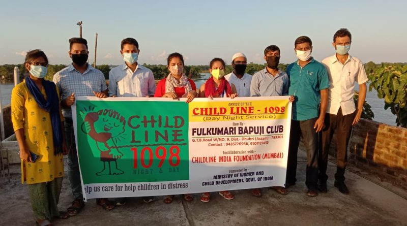 CHILDLINE 1098 – FULKUMARI BAPUJI CLUB